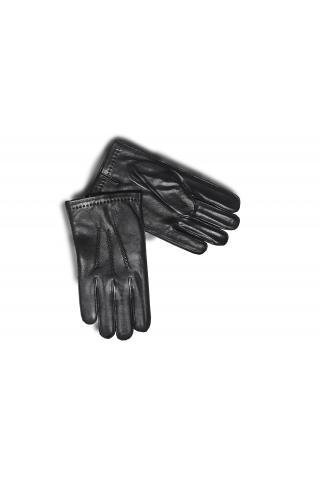 """Перчатки из кожи мужские """"305"""" чёрные"""