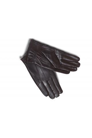 """Перчатки из кожи мужские """"306"""" коричневые"""