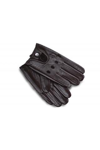 """Перчатки из кожи мужские """"М 17-31"""" коричневые"""