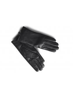"""Перчатки кожаные женские """"142 Т"""" чёрные"""