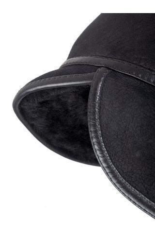 Кепи из овчины м. 161 черная