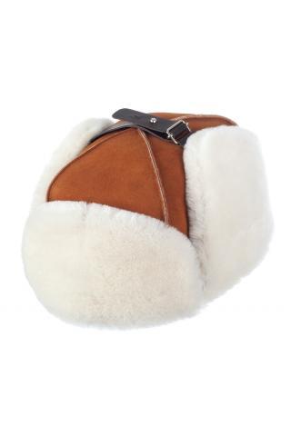 Ушанка-финка из овчины м. 22 виски