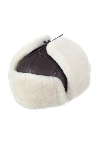 Ушанка-шлем из овчины м.24