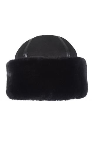 Шапка-боярка  из овчины м. 801 черная