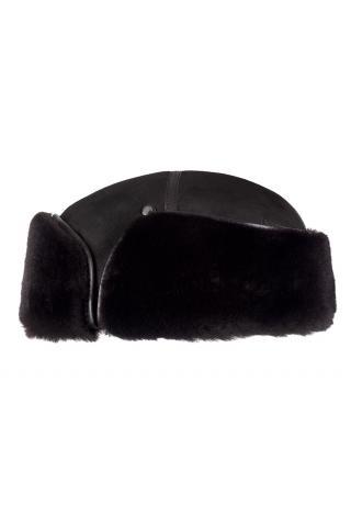 Шапка-финка из овчины м.950 черная