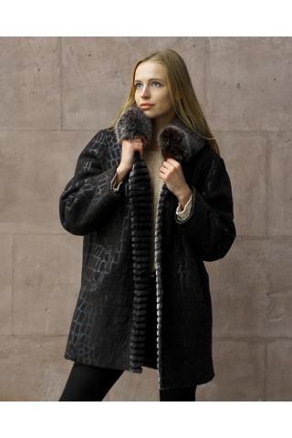Женская дублёнка модель 0092