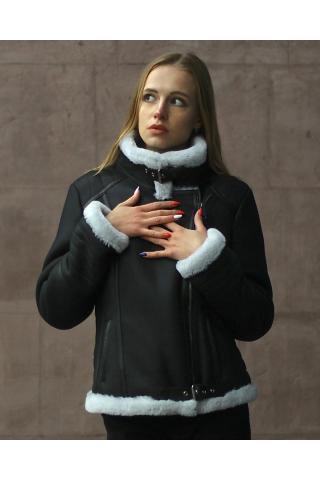 Женская дубленка Авиатор модель 2007