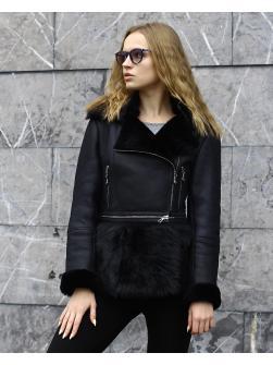 Женская дубленка Авиатор модель 2012