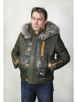 Куртка кожаная 5655