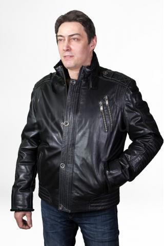 Кожаная куртка 3ХL