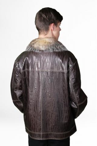 Кожаная куртка 8515